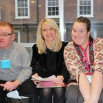 Disability Minister Esther McVey meets Mencap youngsters