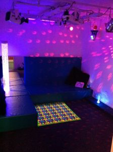 Howford Primary's sensory room