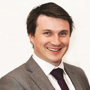 Alex Longden, Marketing Manager of Impey Showers