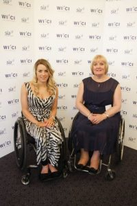 Linda Hartley and Josie Pearson MBE