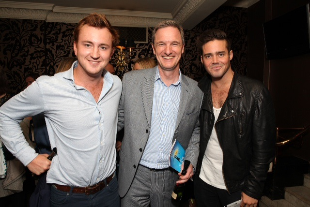 Mark Lever with Francis Boulle and Spencer