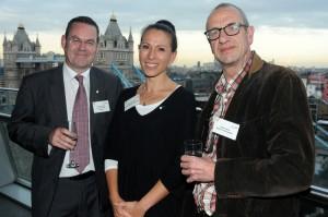 Chris Simmonds (CEO), Mindy Sawhney (Chair) and Arthur