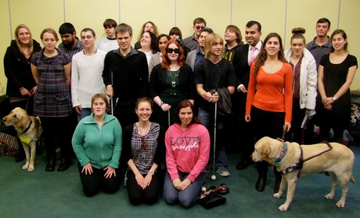RNIB Young People's campaigning group