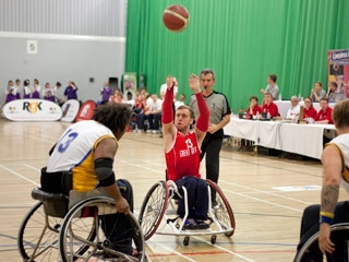 Jim Palmer - Wheelchair Basketball