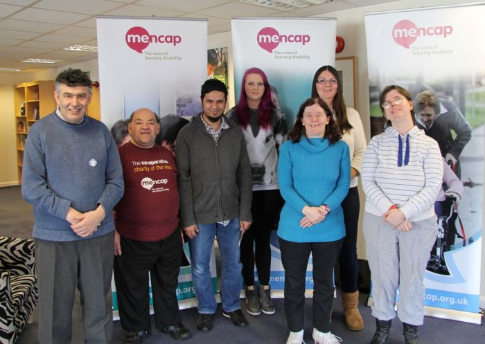 Jessica and Mencap group