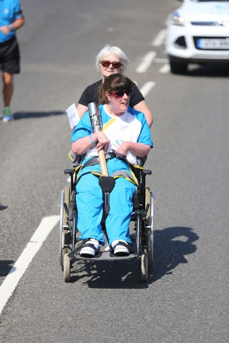 Day 39 of the Queen's Baton Relay in Scotland