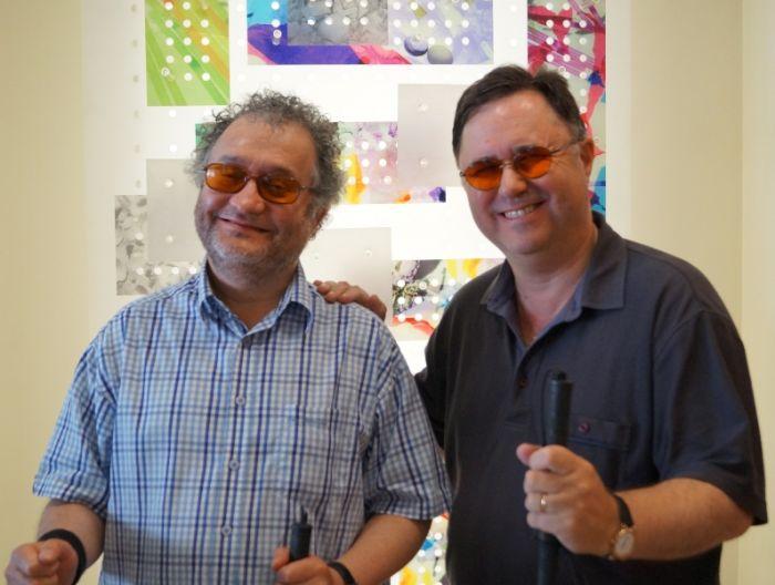 Mark Pampel and Russ Palmer