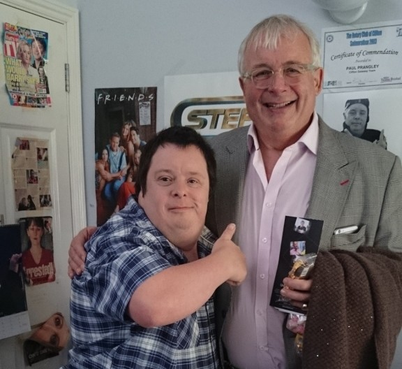 hft Christopher Biggins with Paul