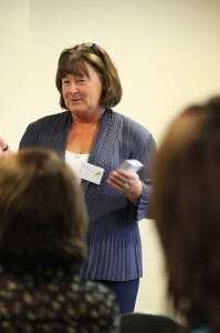 Carol Toner, AFG community services director running a Dementia Friends session