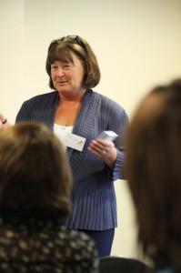 Carol Toner, AFG community services director running a Dementia Friends session