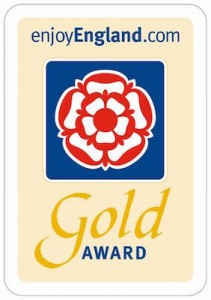 Wallops Wood Gold Award (Sticker Sign)