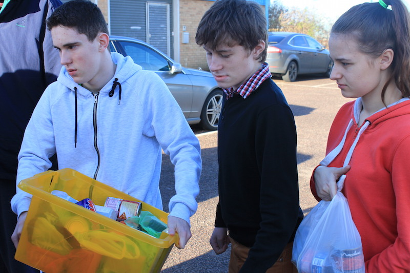 Students With A Learning Disability Help Locals In Crisis By