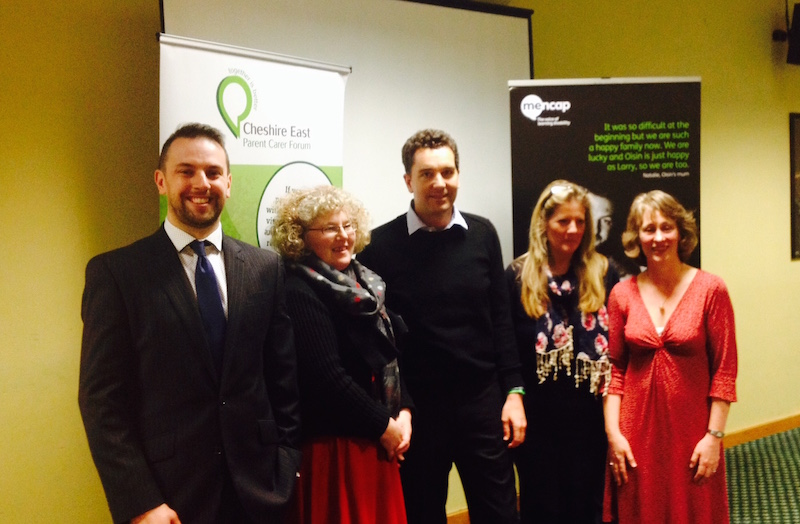 Mencap Hear my voice Ed Timpson image
