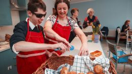 New Beginnings Cafe opens at Royal Blind School.