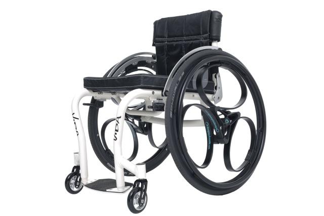 Loopwheels wheelchair with loopwheels (low res)