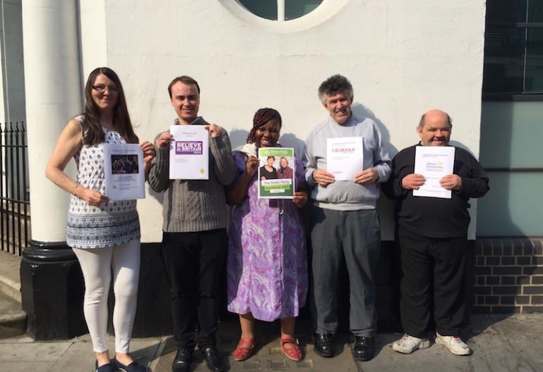 Mencap staff - Easy Read manifestos