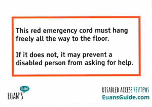 Euans Guide Red Cord Campaign Card