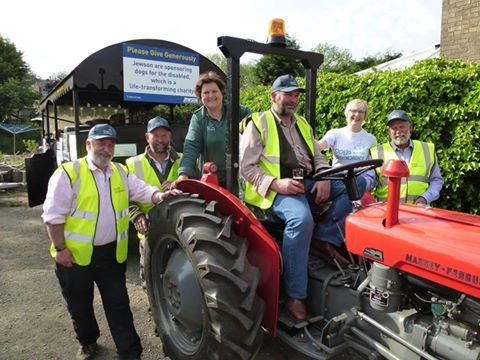 dogs for the disabled Land's End to John O'Groats Vintage Tractor LeJog 6-17 June 2015
