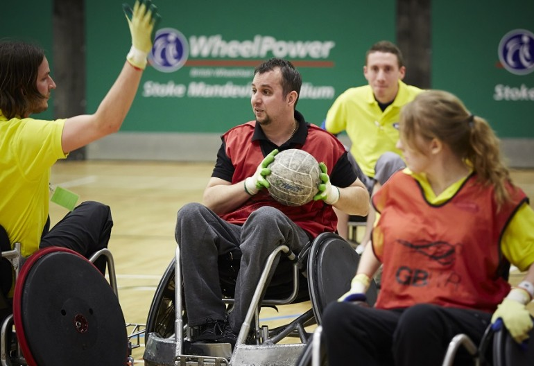 Wheelpower Inter Spinal Unit Games. 8th April 2014. Stoke Mandeville Stadium.