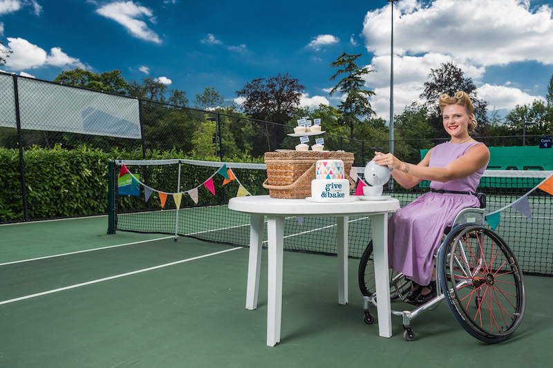 Jordanne Whiley  supporting Leonard Cheshire Disability