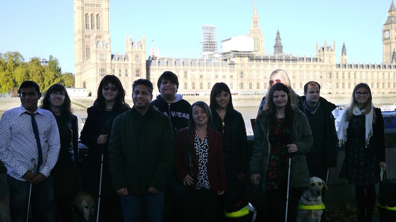 Envision group outside Parliament (smaller)