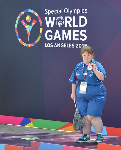 Katie Smith Special Olympian
