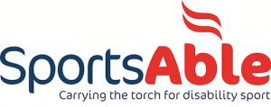 SportsAble Logo with strapline 2015