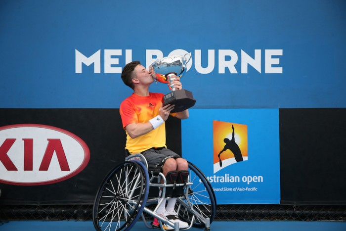 2016 Australian Open men's singles champion Gordon Reid. (PIC: © The Tennis Foundation)