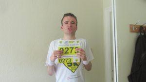 Edinburgh man with autism takes on Silverstone Half Marathon