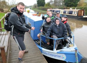 100 mile canal-side trek raises awareness of autism