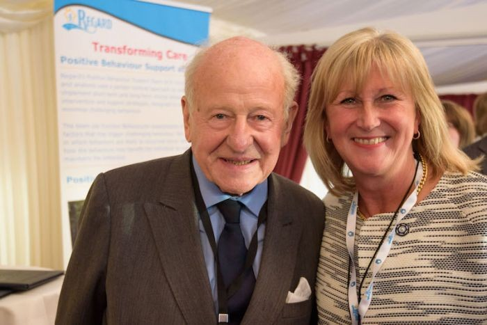 The Viscount Bridgeman and Sandie Foxall-Smith, CEO of Regard