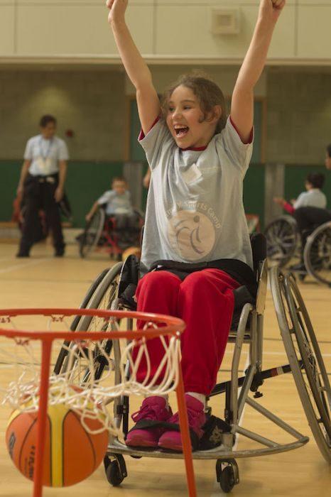 Talk About Taking Part WheelPower survey 2016 - basketball